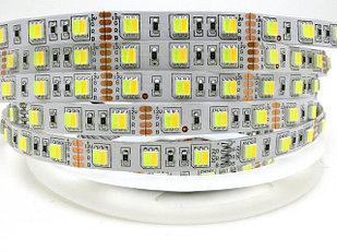 Не влагозащищенная светодиодная лента 5050, 60 Д/М (IP33), Цвет - Белый