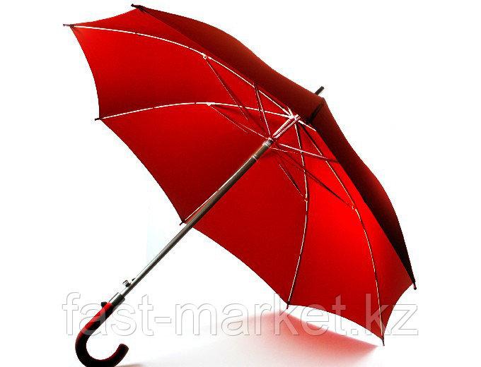 """Зонт - трость (23""""*14) бордовый"""
