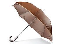 """Зонт - трость (23""""*14) коричневый"""