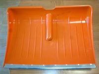 Лопата снегоуборочная 470х350 с планкой без черенка