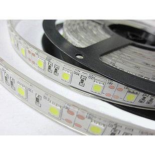 Влагозащищенная светодиодная лента 5050 А, 60 Д/М (IP67), Цвет - Белый