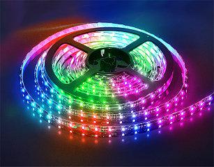 Влагозащищенная светодиодная лента 5050, 60 Д/М (IP68), Цвет - RGB