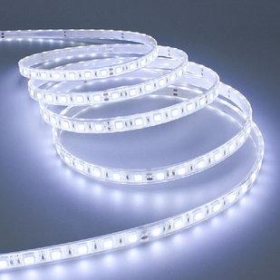 Влагозащищенная светодиодная лента 5050, 60 Д/М (IP65), Цвет - Белый