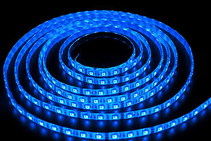 Влагозащищенная светодиодная лента 5050, 60 Д/М (IP65), Цвет - Синий
