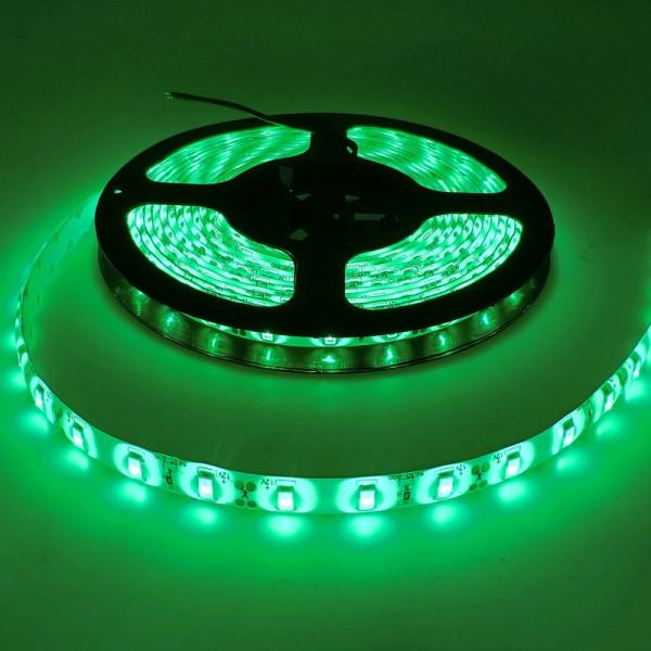 Влагозащищенная светодиодная лента 5050, 60 Д/М (IP65), Цвет - Зеленый