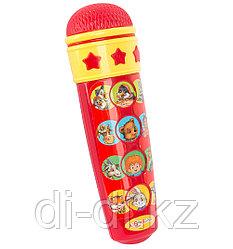 Игрушка-микрофон Караоке Для малышей (красный)