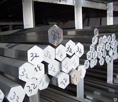 Шестигранник дюралюминиевый 36 мм Д16Т
