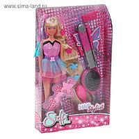 Кукла «Штеффи-парикмахер» с аксессуарами для волос