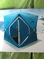 Палатка для зимней рыбалки куб утепленная на синтепоне Tuohai 1,8м