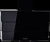 Вытяжка  KUPPERSBERG F 925 BL черное стекло/короб эмаль/кромка FACET