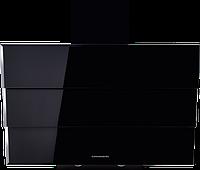 Вытяжка  KUPPERSBERG F 925 BL черное стекло/короб эмаль/кромка FACET, фото 1