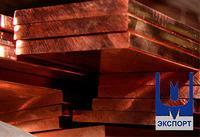 Полоса бронзовая БрКМц3-1 ГОСТ 4748-92