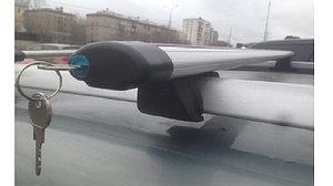 Багажник КРЕПЫШ на рейлинги АЭРО с замком