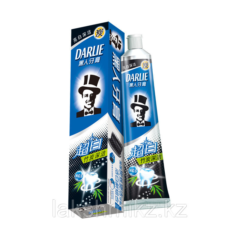 Отбеливающая зубная паста с углем бамбука DARLIE