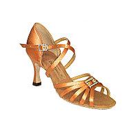 Туфли для бальных танцев латино сатин Dancemaster арт.1417
