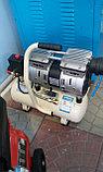 Воздушный бесшумный компрессор, безмасляный SGW 550/8л, фото 3