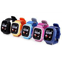 Детские Умные Часы - Телефон с GPS трекером Smart Baby Watch Q90 с Сенсорным Дисплеем