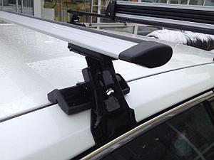Багажник D-1 на гладкую крышу КРЫЛО 130 см