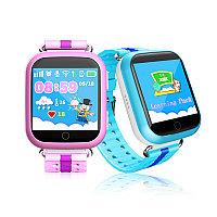 Детские GPS часы Smart Baby Watch Q100 с большим сенсорным дисплеем, фото 1