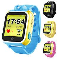 Детские GPS часы Smart Baby Watch Q200 с большим сенсорным дисплеем и камерой