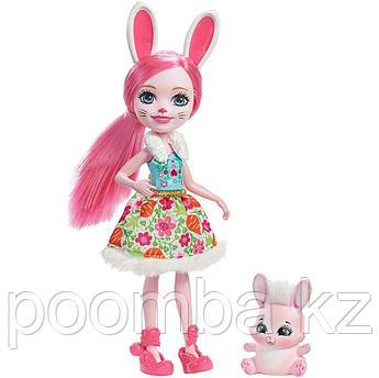 Enchantimals с питомцем - Бри Кроля 15 см