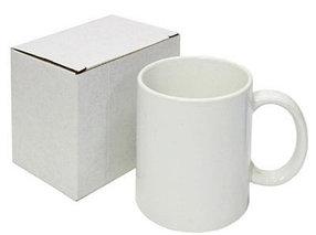 Кружка белая промо в индивидуальной коробке