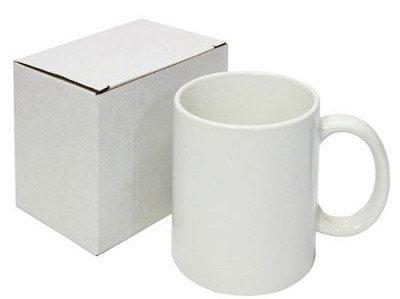 Кружка белая промо в индивидуальной коробке, фото 2