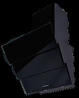 Вытяжка  KUPPERSBERG F 625 BL черное стекло/короб эмаль/кромка FACET