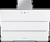 Вытяжка  KUPPERSBERG F 925 W белое стекло/короб нержавеющая сталь/кромка FACET