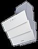 Вытяжка  KUPPERSBERG F 625 W белое стекло/короб нержавеющая сталь/кромка FACET
