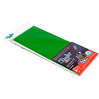 Эко-пластик к 3Д ручке 3DOODLER START (цвет зеленый 24 шт) , фото 1