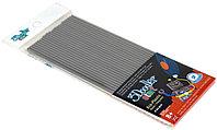 Эко-пластик к 3Д ручке 3DOODLER START (цвет серый 24 шт), фото 1