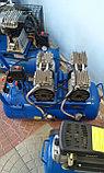Воздушный бесшумный компрессор, безмасляный TCH ZZ 1150x2/50л, фото 3