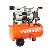 WO 24-160 PATRIOT Компрессор безмаслянный 160 л/мин, 1,1 кВт, 8 атм, 24 л, кол-во цилиндров/ступеней 2/1 шт,