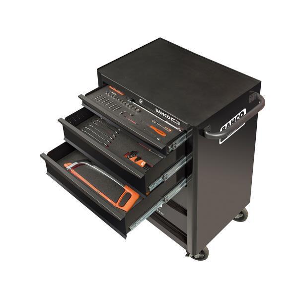 Инструментальная тележка 5 выдвижными ящиками BAHCO 1470K5BKFF1SD