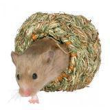 Trixie Травяной домик для хомяков и мышей - 10 см