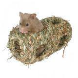 Trixie Травяной тоннель для хомяков и мышей - 10х19 см