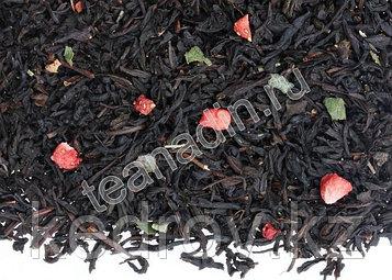 """Чай """"Земляника со сливками"""" (черный ароматизированный),1 кг"""