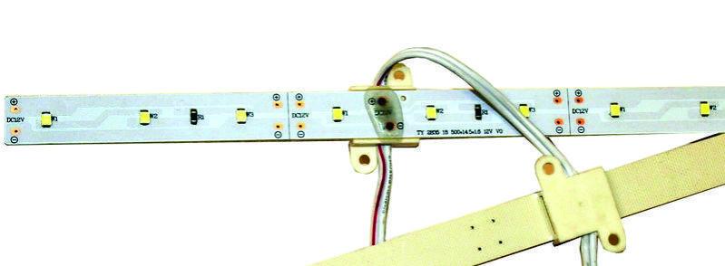 Линейка для световых коробов 12V (4.2w) 2835 Цвет - Белый