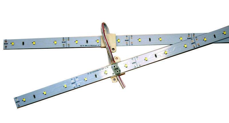 Линейка для световых коробов 12V (8.4w) 2835 Цвет - Белый
