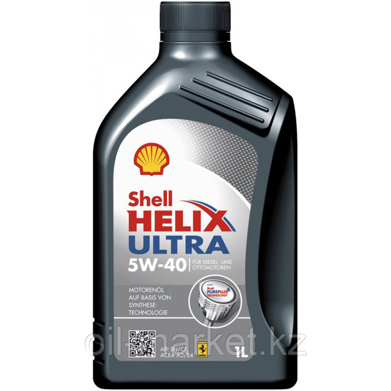 Моторное масло Shell HELIX ULTRA 5W-40 1л.