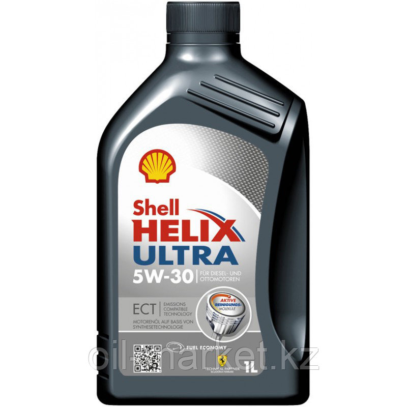 Моторное масло Shell HELIX ULTRA ECT 5W-30 1л.