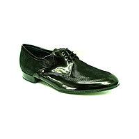 Туфли мужские для бальных танцев стандарт Dancemaster мод.214