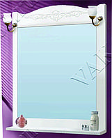 Шкаф зеркальный VAKO Классика 600 со светильником (ольха белая)