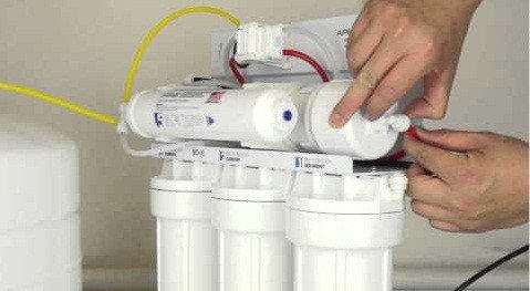 Замена фильтров воды, фото 2