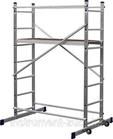 Вышка-тура СИБИН алюминиевая, 3 метра, фото 2