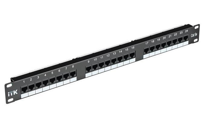 ITK 2U патч-панель кат.6 UTP, 48 портов (Dual), фото 2