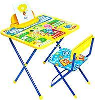 Детский стол и стул Ника Фиксики Ф1А, фото 1
