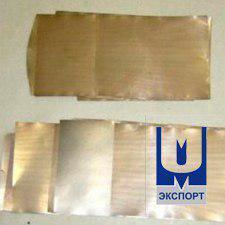 Полоса-лента из псевдосплава ММ20БЛ5 ТУ 297-33-86