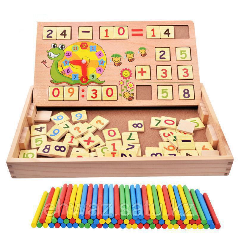 Деревянная игрушка Счетные палочки